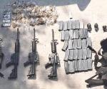 Caen dos con armas y vehículos robados