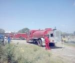 Movilizan a bomberos