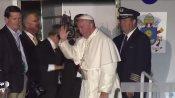 Papa admite intervino por la paz en Colombia