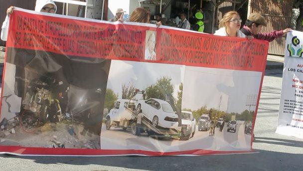 Se llevó a cabo manifestación contra la MIXTA