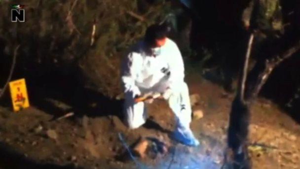 Hallan enterrados restos de menor desaparecido
