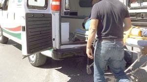 Dos lesionados en accidente vial