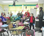 Cala frío a estudiantes