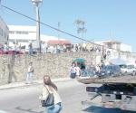 Protestan contra el operativo grúa