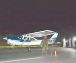 Aterriza de emergencia aeronave