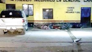Matan a 7 en Sonora