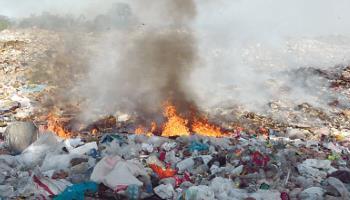 Se les hace fácil y prenden basureros de Las Calabazas