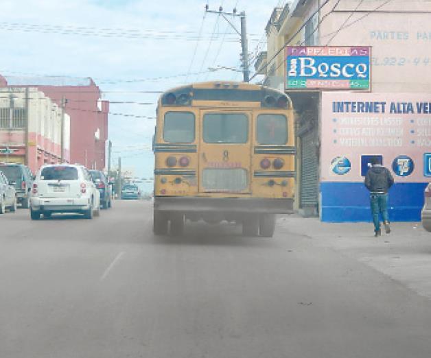 Piden operativo contra los microbuses piratas