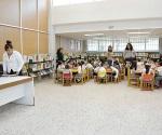 Dan una manita a la biblioteca Agapito Zepeda