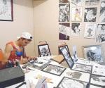Da vida con su talento a los comics