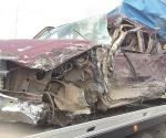 Tráiler embiste a camioneta y deja saldo de un herido