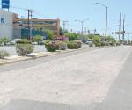 Sufren conductores en el lateral del bulevar Morelos