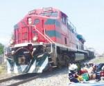 Mata el tren a anciana
