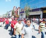 Sí se manifestarán obreros el primero de mayo en desfile