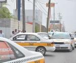 Checan que taxis no sean robados