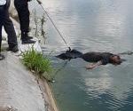 Rescatan cuerpo de calichera