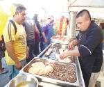 Se darán su taco en la Oaxaca