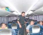 Garantizan seguridad a quienes salen de viaje