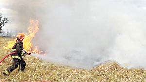 Preocupan incendios en baldíos