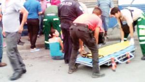Atropella a 4 y muere en persecución policial