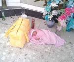 Investigan caso de bebé