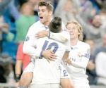 Gana Real Madrid de forma agónica
