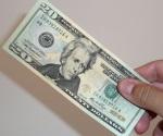 Dólar en ventanillas bancarias sube a $19.99