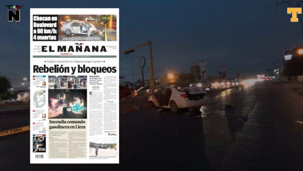 Reclaman cuerpo de tra´gico choque en Reynosa