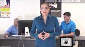 Resumen informativo con Carla Cavazos, 17 de octubre del 2016