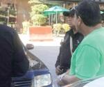 Asaltan con cuchillo a peatón en Tampico