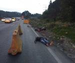 Hallan 4 cadáveres en la México-Toluca