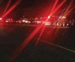 Choque deja 9 heridos: trailero se da a la fuga
