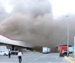 Se incendia planta de LG en Apodaca
