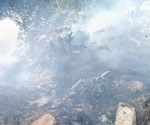 Causan de nuevo fuego en basurero