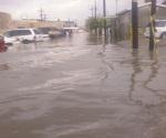 Dejan lluvias inundaciones en Matamoros