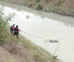 Descubren a ahogado en un dren