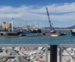Atienden hundimiento de barco en San Felipe, BC