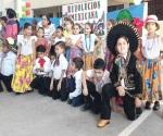 Organizan desfile cívico deportivo