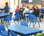 Ausentismo escolar por frío en la frontera chica