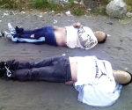 Hallan cuerpos de 2 maniatados
