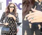 Se pasea Irina con anillo de compromiso