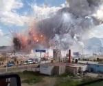 Suman 31 muertos por explosión en Tultepec