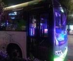 Policía abate a delincuente en transporte público