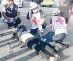 Mujer arrollada por taxi