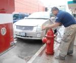 Sufren con hidrantes
