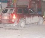 Frenan loca carrera a tiros en la Juárez