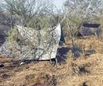 Revientan campamento de narcos