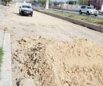Por fin arreglarán calle en la Ribereña
