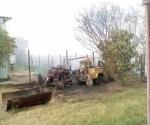 Incendio  daña bombas utilizadas para el riego