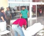 Muere abuelito al caer en un centro comercial